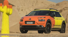 Citroen C4 Cactus, creatività al top con la Unexpected by Gufram esposta alla Design Week