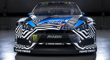 "WRX, il re dei graffiti Felipe Pantone ""disegna"" la Ford Focus Rs di Ken Block"