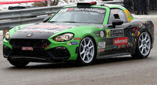 Esordio competitivo per le Abarth 124 rally a Montecarlo: 2° in classifica tra le R-GT