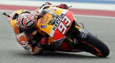 Moto GP: Marquez, incredibile pole in Texas