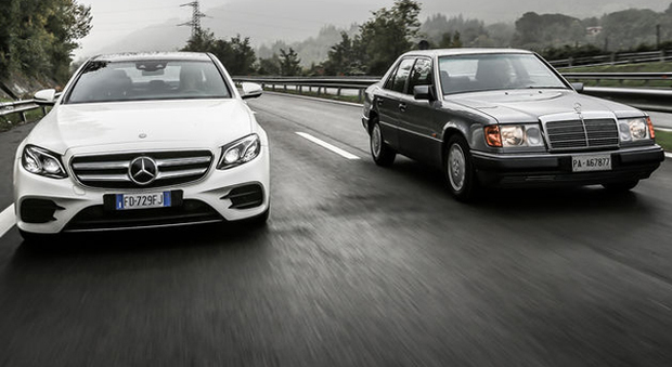 Due Mercedes Classe C a confronto