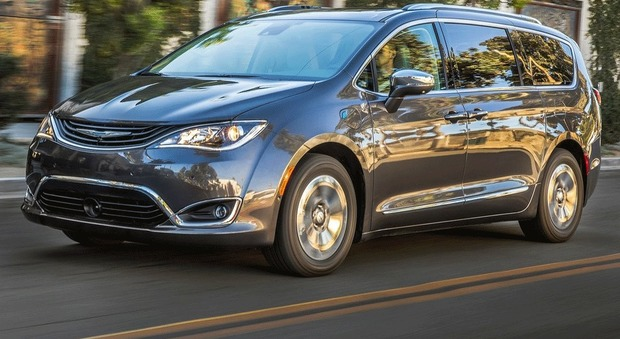 La Chrysler Pacifica Hybrid