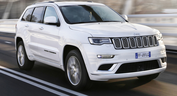 La Jeep Grand Cherokee in versione Summit