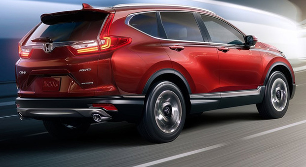 La Honda CR-V svelata a Los Angeles