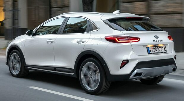 La Kia XCeed plug-in hybrid