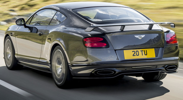 La Bentley Continental Supersports