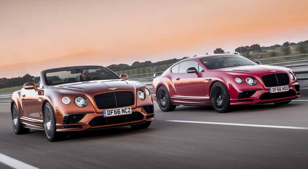 Bentley Continental GT e cabrio
