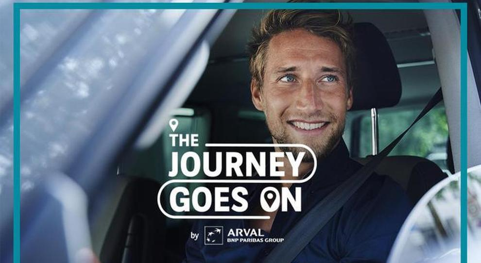 La campagna Arval 'The Journey Goes On'