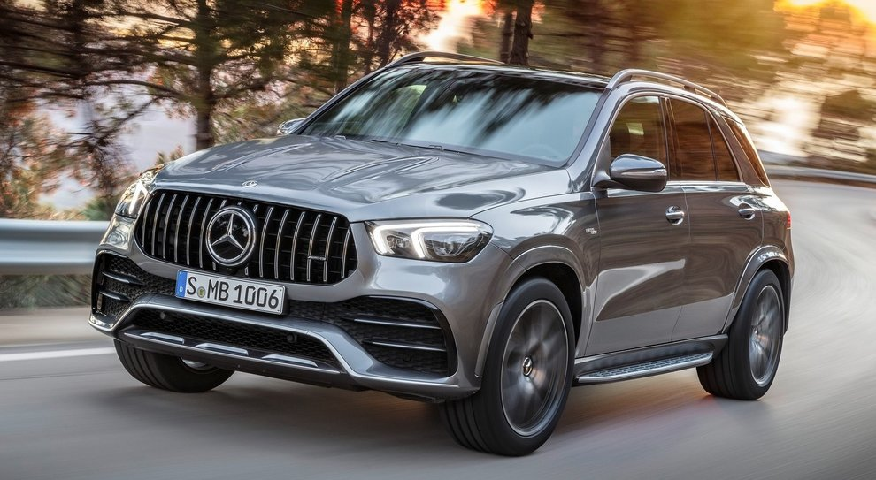 La Mercedes GLE 53 4MATIC+
