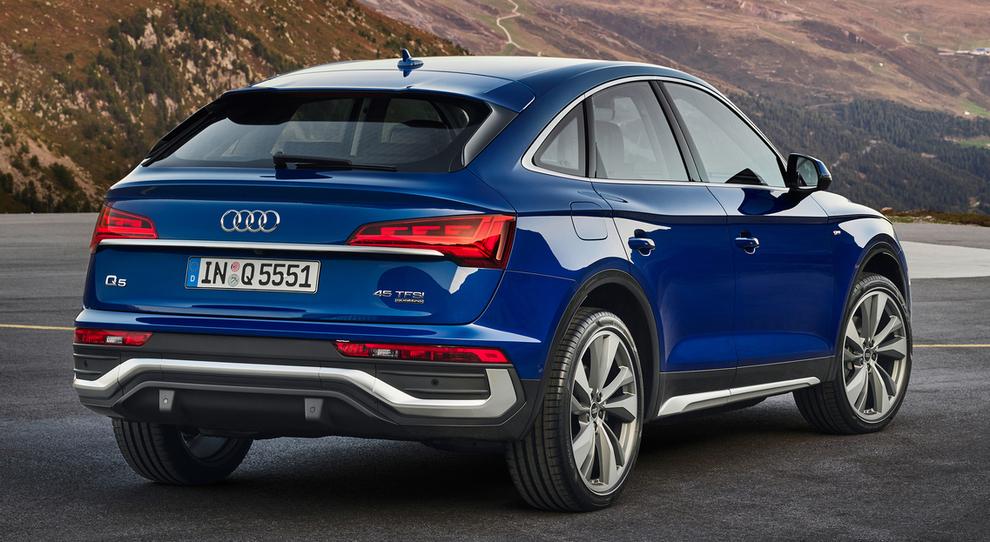 Q5 Sportback, ecco la versione coupè del Suv Audi di ...