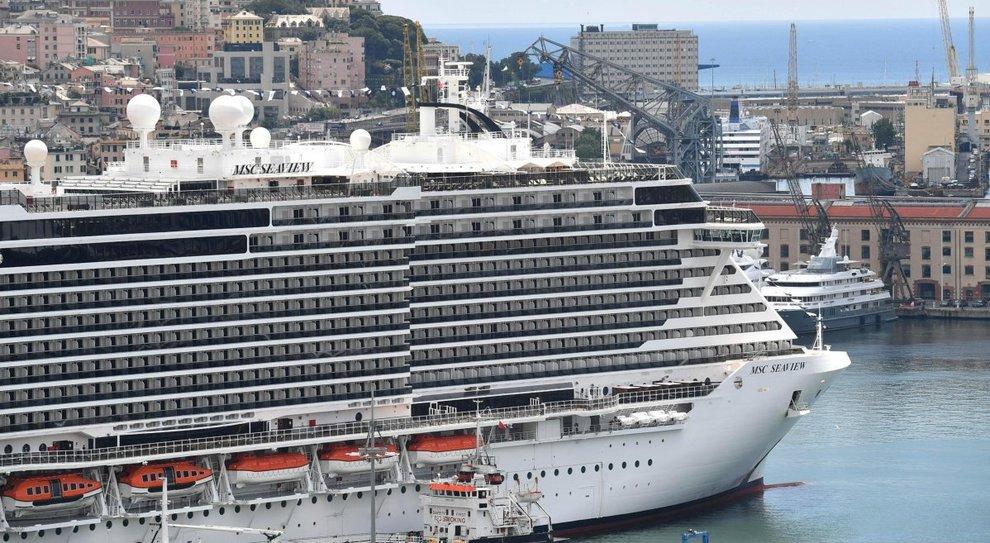 Ecco Msc Seaview è la nave più grande mai costruita in Italia