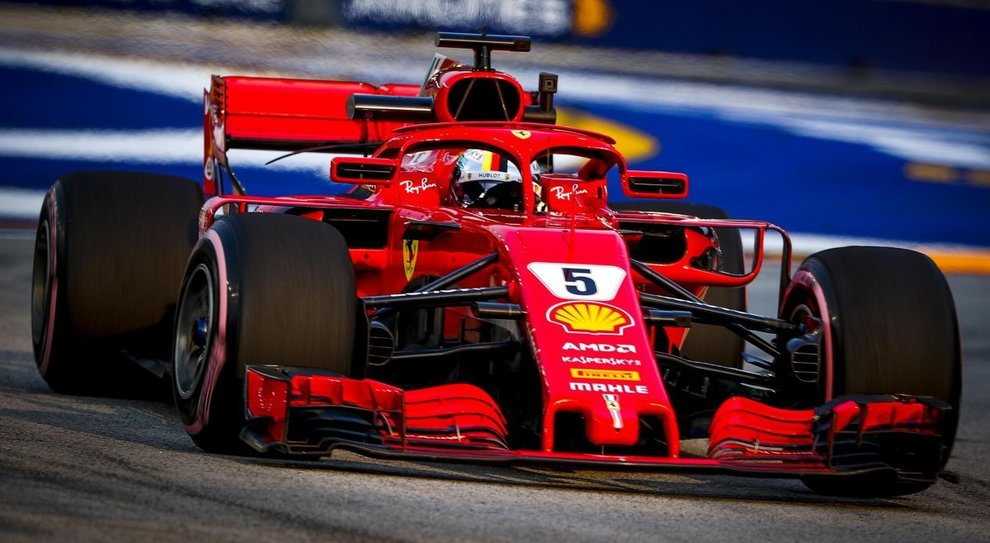 Singapore, Vettel sconsolato: