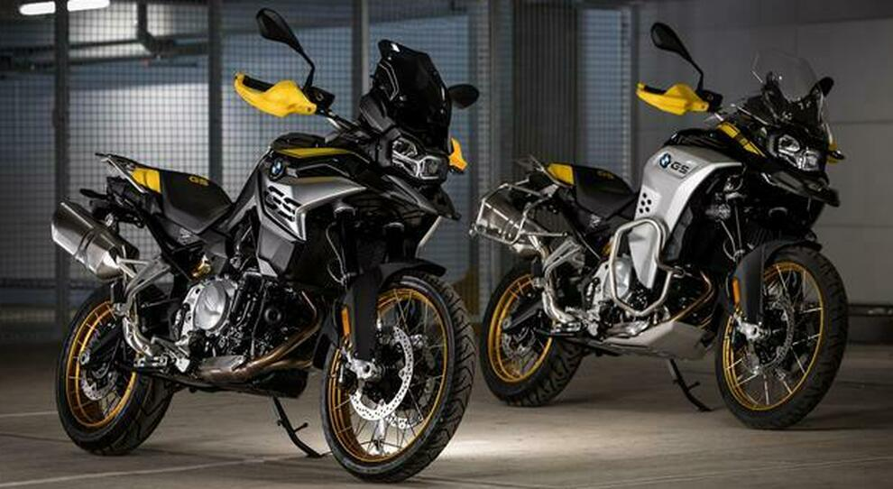 "Le Bmw  F 850 GS e F 850 GS Adventure in versione ""40 Years GS Edition"""