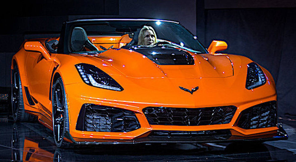 La Corvette ZR1 Convertible