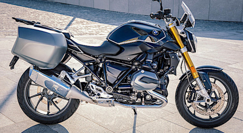 La BMW R 1200 R Black Edition
