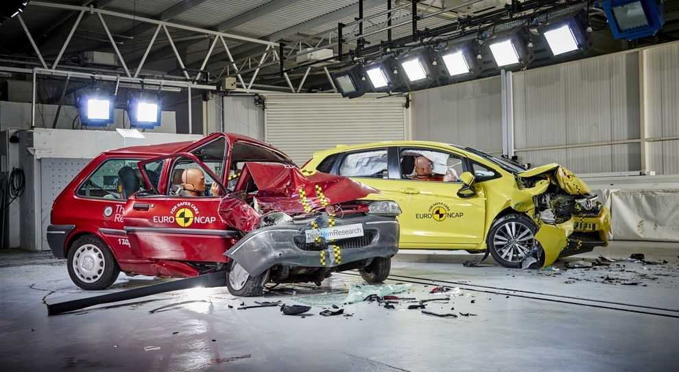 Un crash test EuroNcap