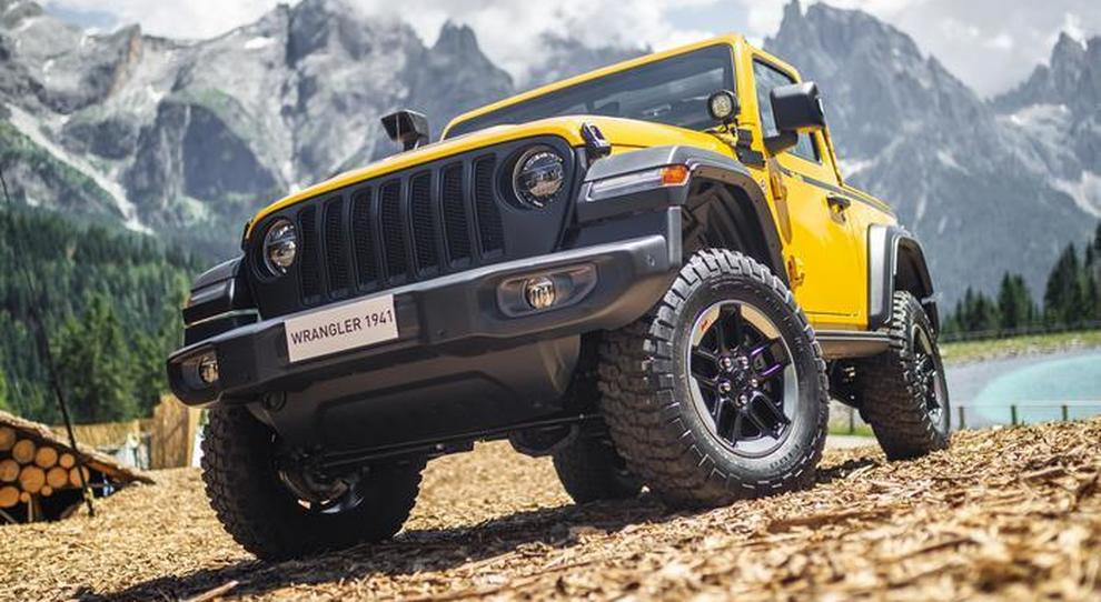 "Una Jeep Wrangler ""1941"" by Mopar"
