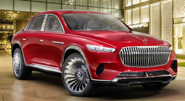Mercedes-Maybach Ultimate Luxury, il superSuv che è anche sala da the