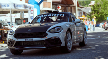 Abarth nel week end protagonista del Rally Roma Capitale